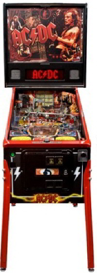 AC/DC Pinball Machine - Premium Limited Edition / LE Model From Stern Pinball