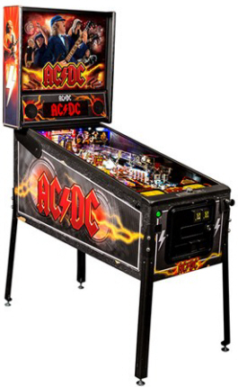 AC/DC Pro LED Pinball Machine - Professional LED Model | Stern Pinball