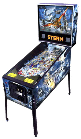 Avatar Pinball Machine From Stern Pinball