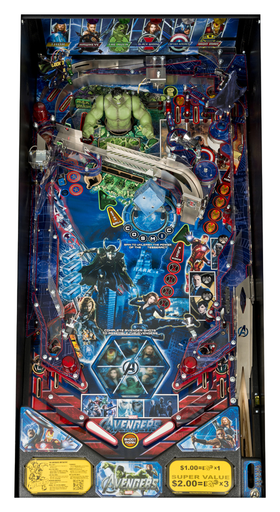 Discontinued Pinball Machines Reference Page 1 B