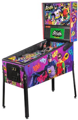 Batman 66 Premium Edition Model Pinball Machine From Stern Pinball