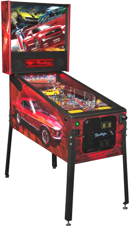 Mustang Pro / Professional Model Pinball Machine From Ford / Stern Pinball