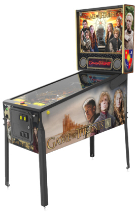 Game Of Thrones Pro Model Pinball Machine