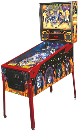 KISS Limited Edition LE Pinball Machine