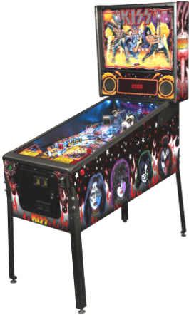 KISS Premium Model Pinball Machine