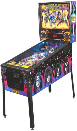 KISS Professional Model Pinball Machine
