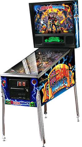 Medieval Madness Pinball Machine - Remake Model From Chicago Gaming