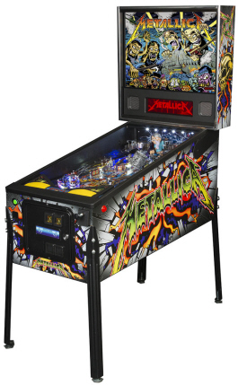 "Metallica ""Dirty Donny Gillies"" Premium Model From Stern Pinball"