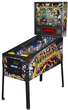 Metallica Monsters Premium Pinball Machine From Stern