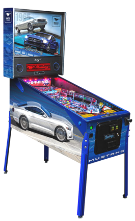 Mustang Limited Edition Pinball Machine From Ford / Stern Pinball