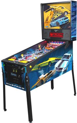 """Mustang Premium """"BOSS"""" Model Pinball Machine From Ford / Stern Pinball"""