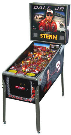 NASCAR Dale Earnhardt Jr / Dale Junior Pinball Machine From Stern Pinball