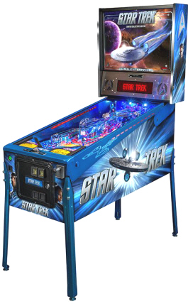 Star Trek Enterprise Pinball Machine From Stern
