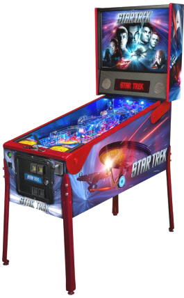 Star Trek Vengeance Pinball Machine From Stern