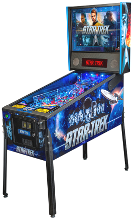 Star Trek Pro / Professional Pinball Machine From Stern
