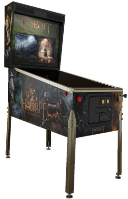 The Hobbit Limited Edition Pinball Machine From Jersey Jack
