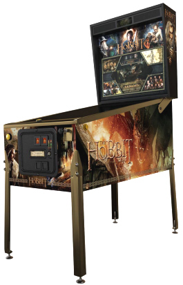 The Hobbit Smaug Gold Pinball Machine From Jersey Jack Pinball