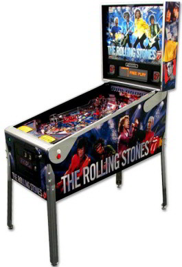 The Rolling Stones Limited Edition Pinball Machine From Stern Pinball