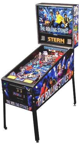 The Rolling Stones Pinball Machine From Stern Pinball