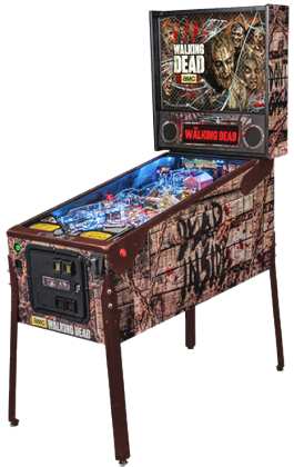 The Walking Dead Limited Edition Pinball Machine From Stern