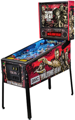 The Walking Dead Professional Pinball Machine From Stern