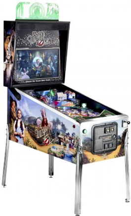 The Wizard Of Oz Standard Model Pinball Machine