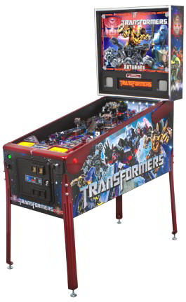 Transformers AutoBot Crimson Pinball Machine - Limited Edition Model From Stern Pinball