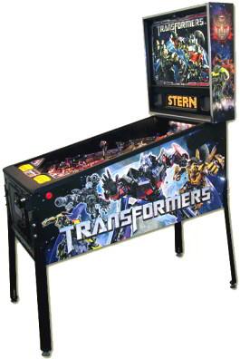 Transformers Pro Pinball Machine - Professional / Standard Model From Stern Pinball