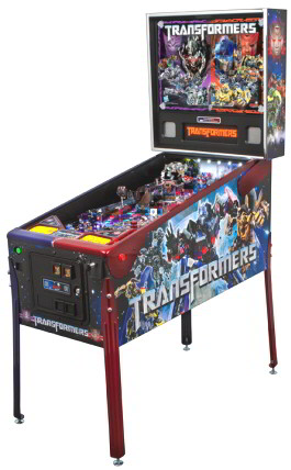 Transformers LE Pinball Machine - Limited Edition Model From Stern Pinball