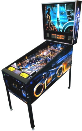 TRON Pro / Professional Pinball Machine 2D Backglass - From Stern