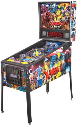 X-Men Pro /  Professional Pinball Machine From Stern Pinball