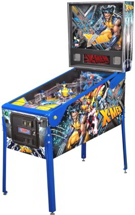 X-Men Wolverine Limited Edition Pinball Machine From Stern Pinball