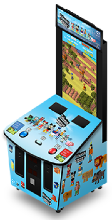 Disney Crossy Road Mini Arcade Ticket Redemption Game From Adrenaline Amusements