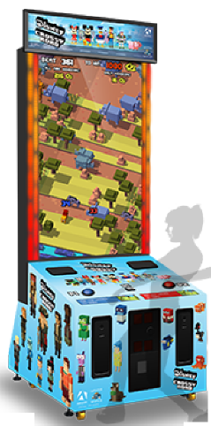 Disney Crossy Road Arcade Videmption Game From Adrenaline Amusements