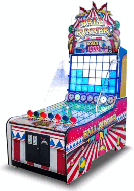 Ball Runner Ticket Redemption Arcade Game From Sega Amusements