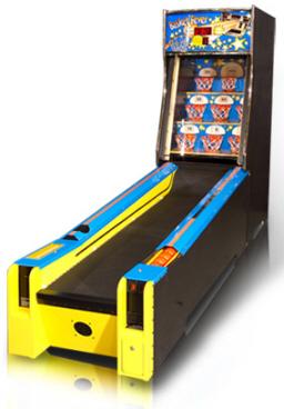 Basket Fever Alley Roller Machine From Baytek Games