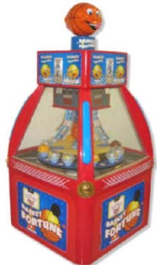 Basket Fortune Quick Coin Redemption Game From Family Fun Companies