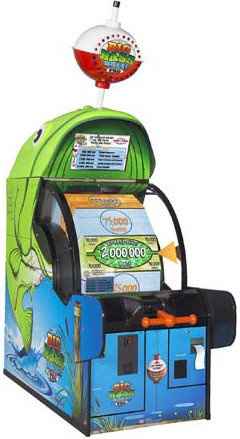 Big Bass Wheel Pro Arcade Ticket Redemption Game