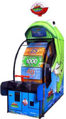Big Bass Wheel Arcade Ticket Redemption Game