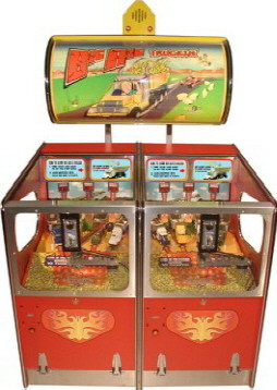Big Rig Truckin 2 Player Quick Coin Pusher Ticket Redemption Game From Benchmark Games