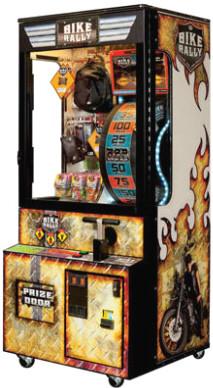 Bike Rally Arcade Prize Redemption Game
