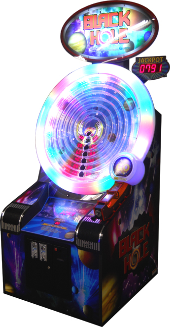 Black Hole Arcade Ball Spin Ticket Redemption Game From Coastal Amusements
