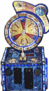 Blacklight Bowling Ticket Redemption Wheel Game From FiveStar Redemption