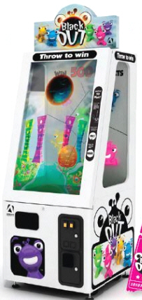 Black Out Ticket Redemption Touchscreen Arcade Game