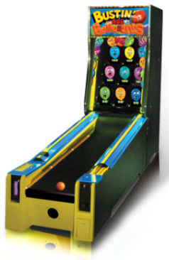 Bustin Ballons Alley Roller Machine From Baykek Games