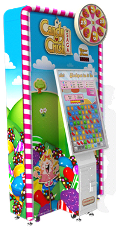 Candy Crush Saga Ticket Redemption Arcade Game