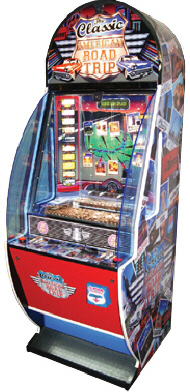 The Classic American Road Trip Coin Pusher Redemption Game From Sega