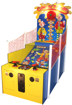 Clownin' Around Classic Carnival Water Gun Shooting Gallery Game From Pan Amusements