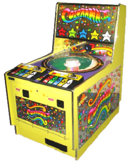 Colorama II / Colorama 2 Player Ticket Redemption Wheel Game By Bromley Games