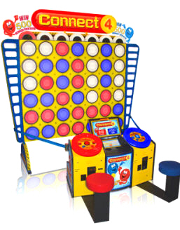 Connect 4 Deluxe Arcade Giant Ticket Redemption Game